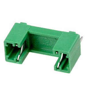 PTF78, Fuseholder_for_5x20,GREEN_body PCB_Mounting